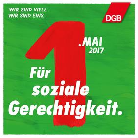 1. Mai 2017 Maiplakat Gerechtigkeit