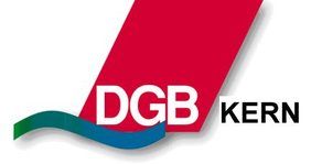 Das Logo des deutschen Gewerkschaftsbundes Kiel