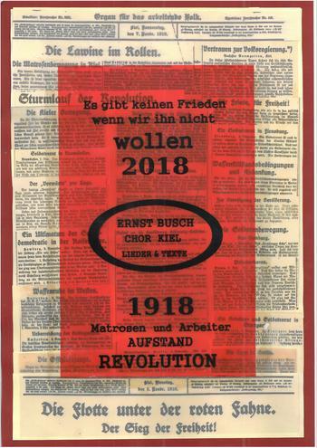 Matrosen und Arbeiter Aufstand