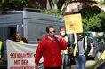 NGG Streik vor dem Maritim Hotel in Kiel