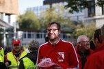NGG Streik vor dem Steigenberger in Kiel Pillip Thom