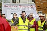NGG Streik vor dem Steigenberger in Kiel